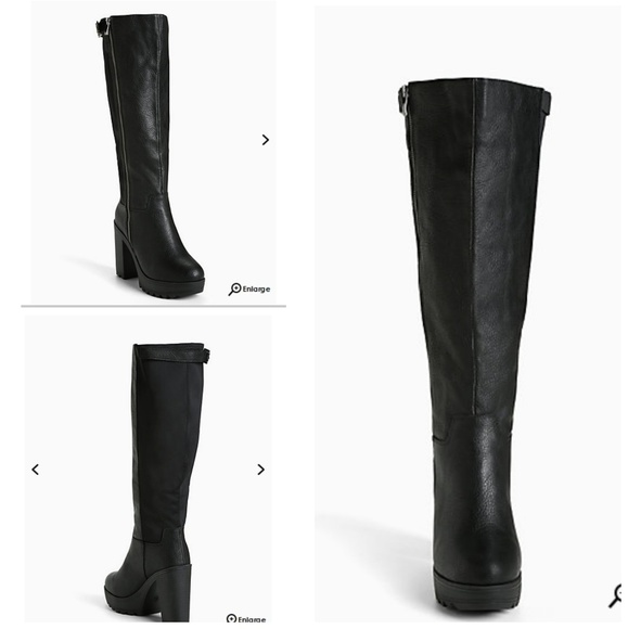 f192749f691 Scuba back lug heel wide width boots NWT